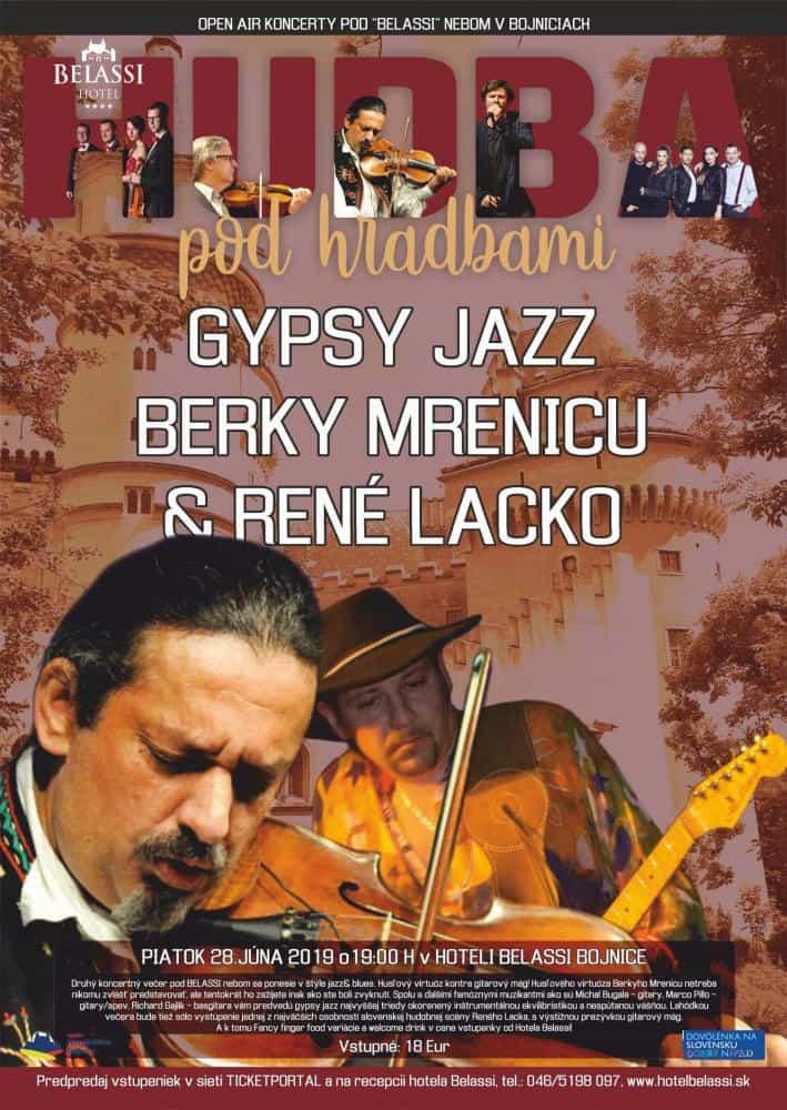 Gypsy jazz Berky Mrenicu & René Lacko 28.6.2019