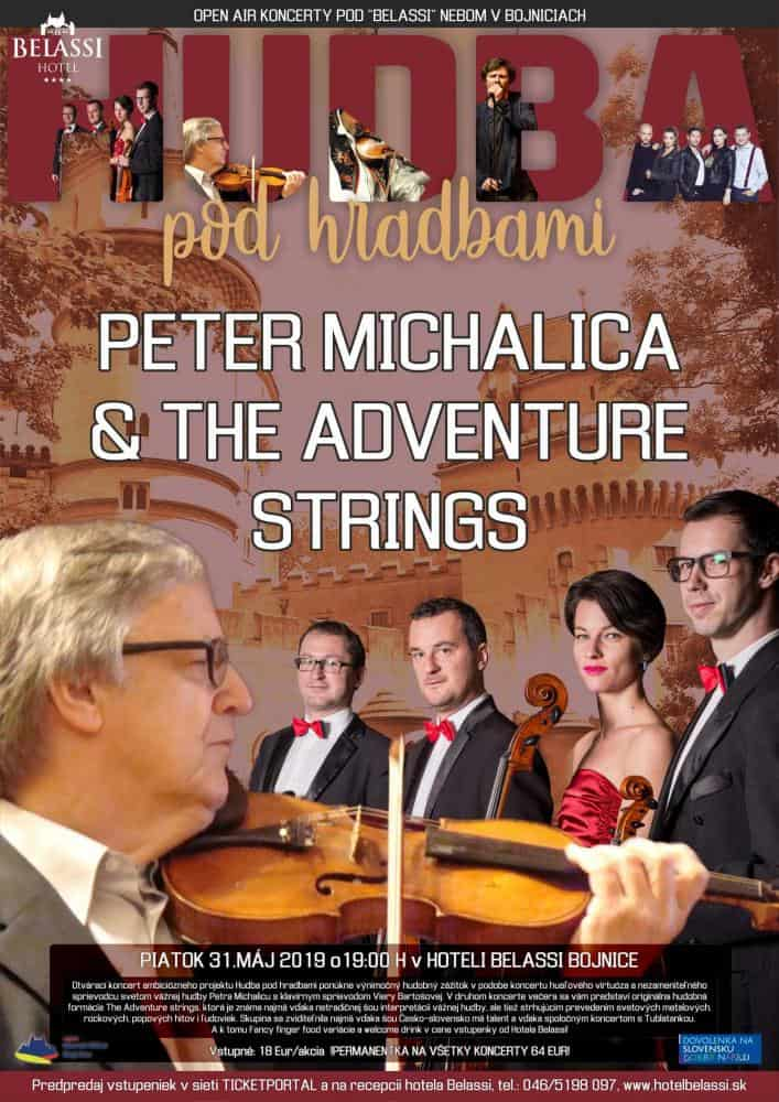 Peter Michalica & The adventure strings 31.5.2019